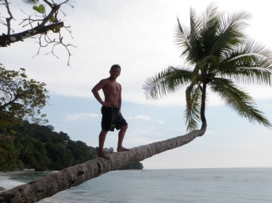 Trying not to fall in Costa Rica