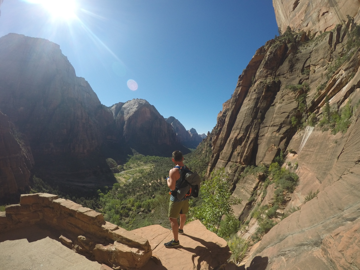 Angels Landing, Zion National Park: Day4